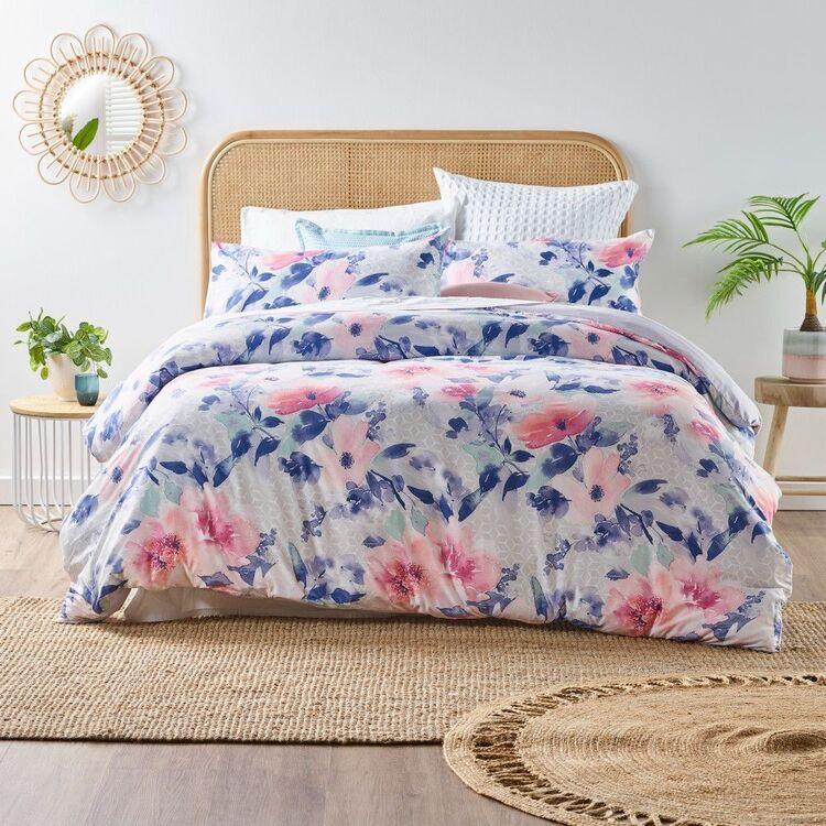 Emerald Hill Flora Quilt Cover Set