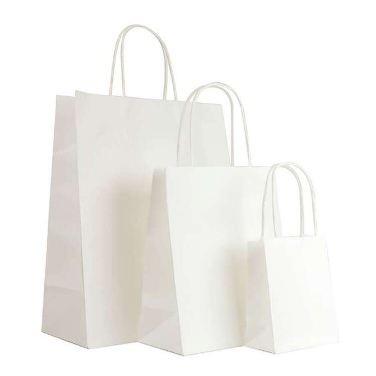 Artwrap White Kraft Bag