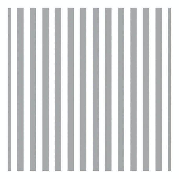 Artwrap Silver Stripe Folded Tissue Paper 3 Sheets