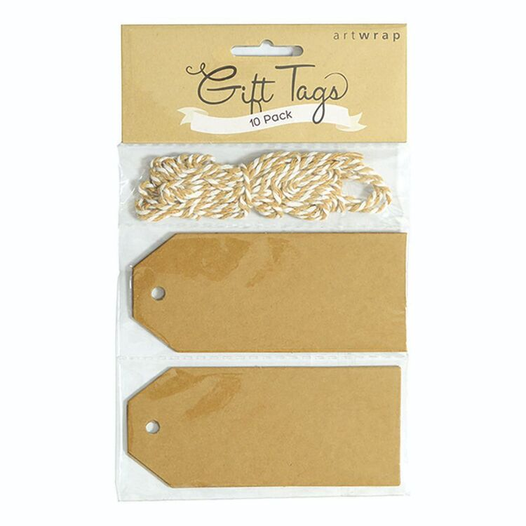 Artwrap 10 Pack Luggage Gift Tags