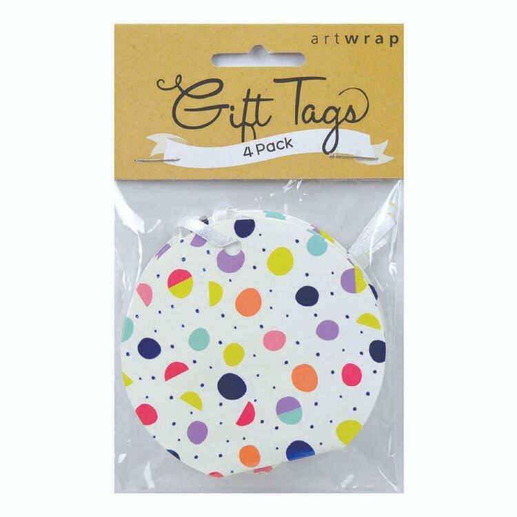 Artwrap Pop Out For You Gift Tags 4 Pack