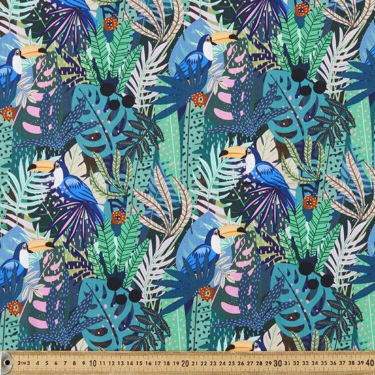 Kia Digital Printed 112 cm Cotton Poplin Fabric