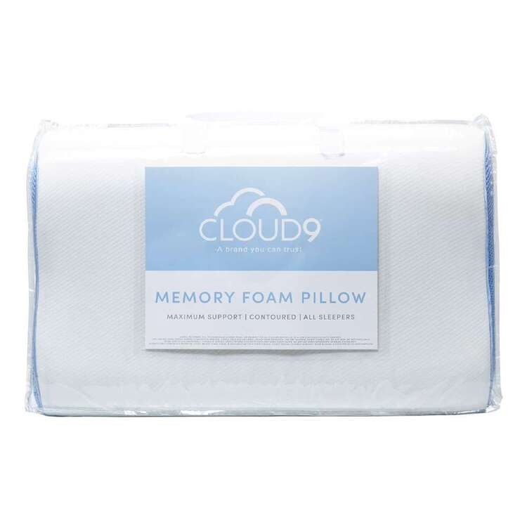 Cloud 9 Memory Foam Contoured Standard Pillow
