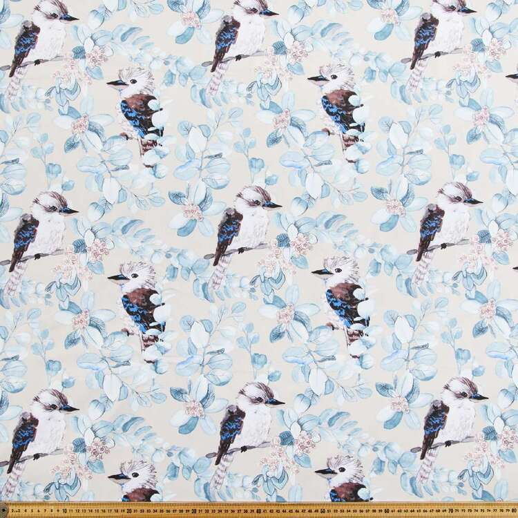 Kooka's Printed Cotton Drill Fabric