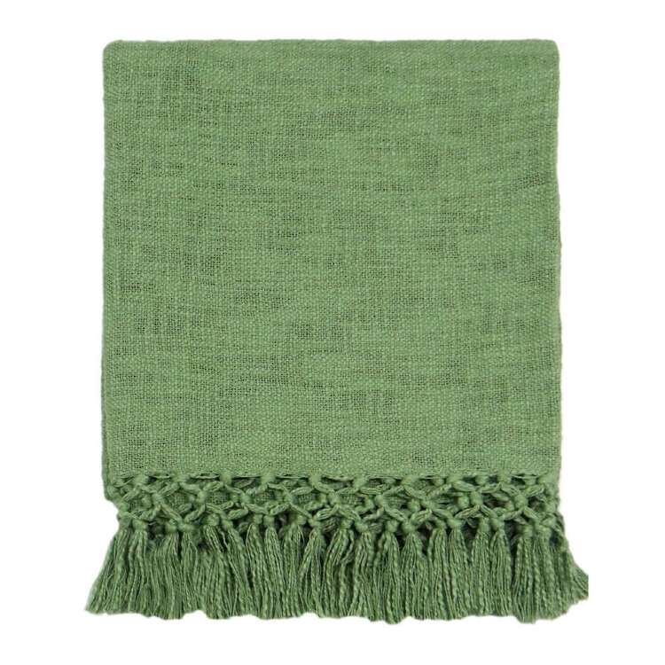 Ombre Home Urban Jungle Slub Knit Throw