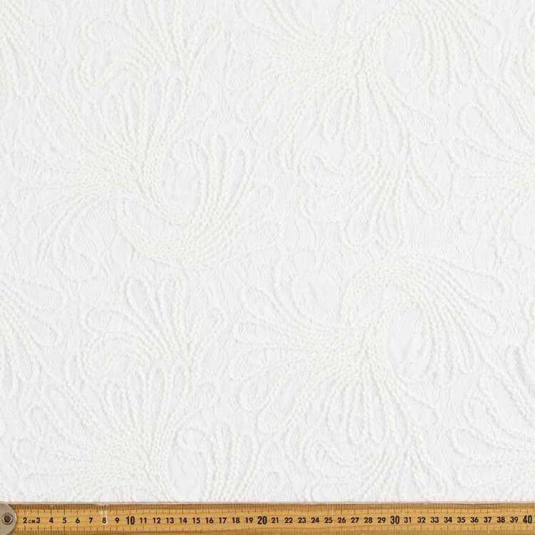 Lisbon Rope Embroidered Lace Fabric