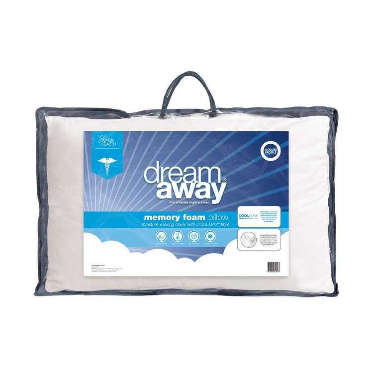 Dream Away Coolmax Memory Foam Standard Pillow