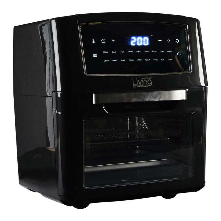 Living Essentials 12L Digital Air Cooker