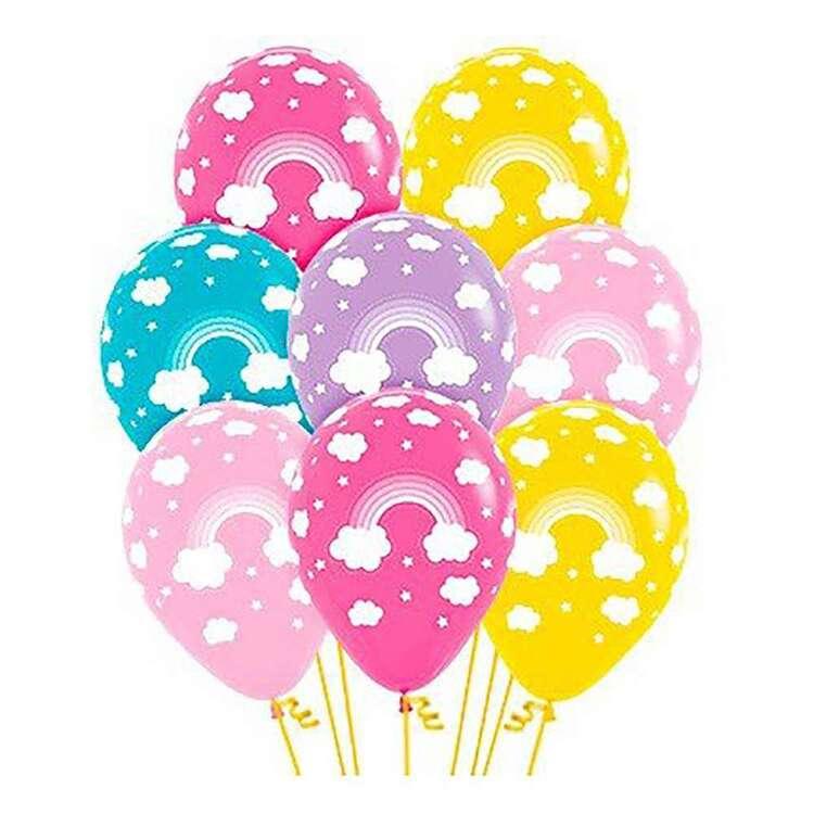 Anagram Rainbow Latex Balloon 12 Pack