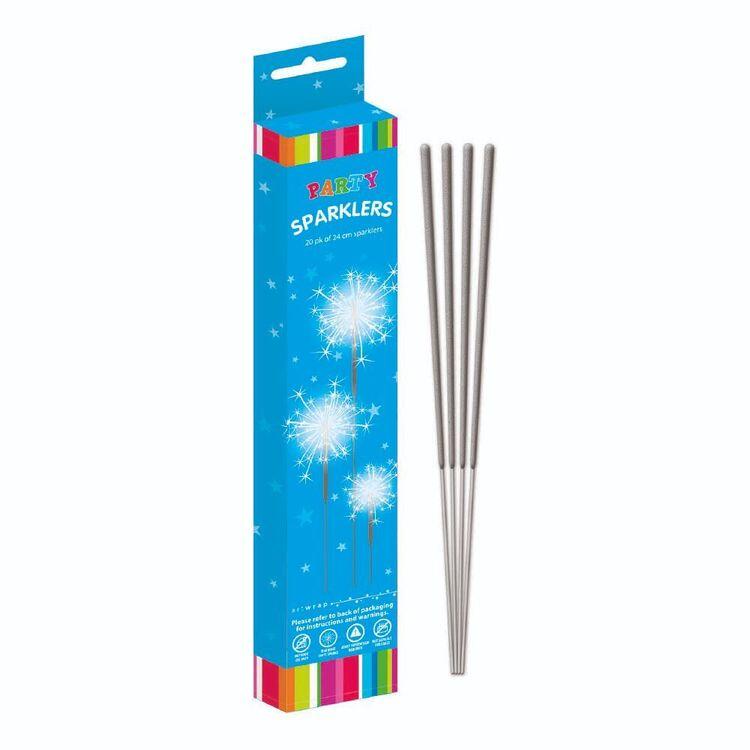 Artwrap 20 Pack Straight Sparkler