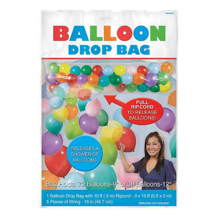 Anagram Balloon Release Drop Bag