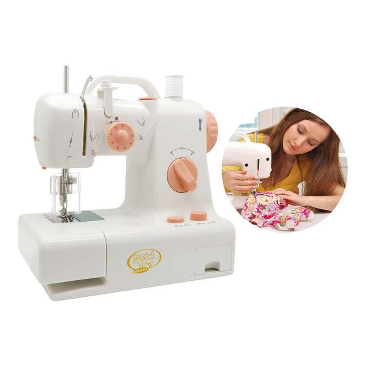 Homezy Sew Easy Deluxe Child Sewing Machine