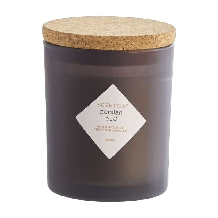 Scentsia Persian Oud Scented 300 g Candle With Cork Lid