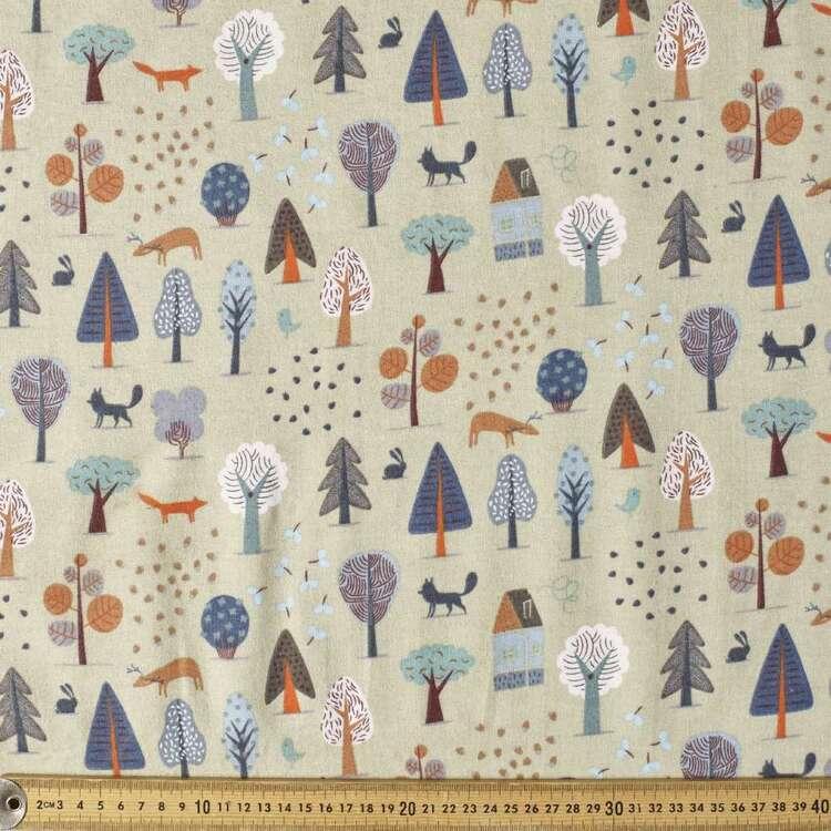 Arbour Printed 112 cm Flannelette Fabric