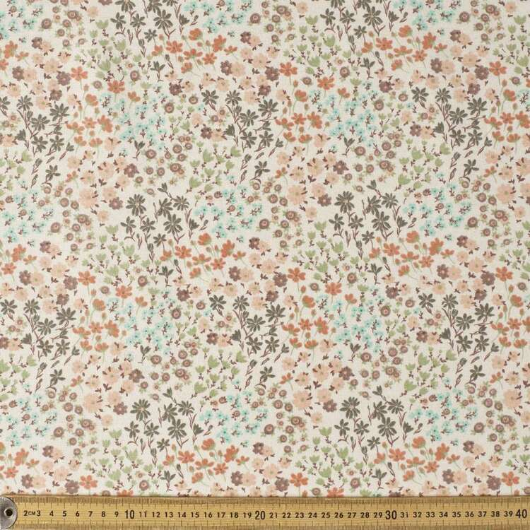 Milly Printed 112 cm Cotton Flannelette Fabric