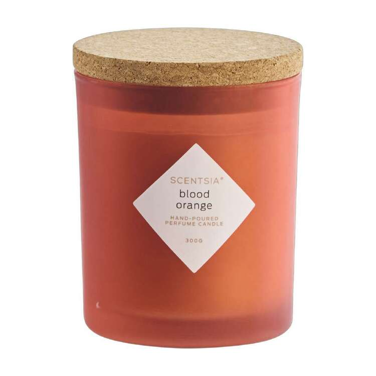 Scentsia Blood Orange Candle With Cork Lid