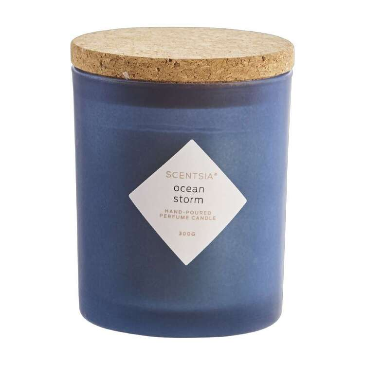 Scentsia Ocean Storm Candle With Cork Lid