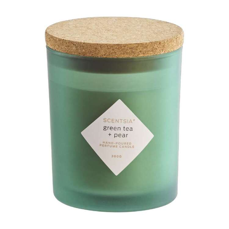Scentsia Green Tea & Pear Candle With Cork Lid