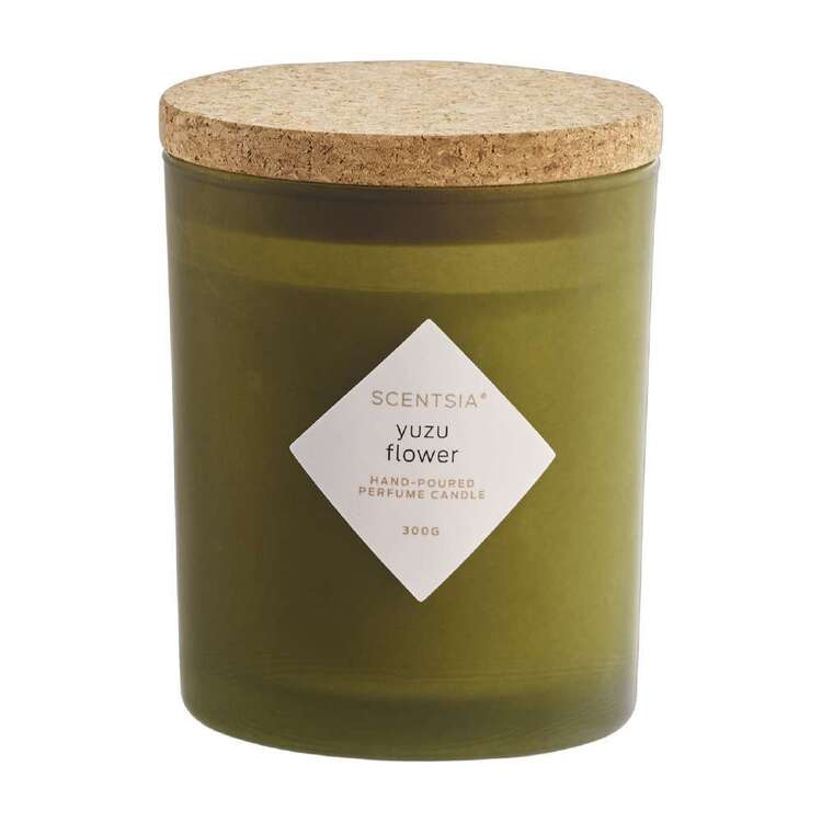 Scentsia Yuzu Flower Scented 300g Candle With Cork Lid