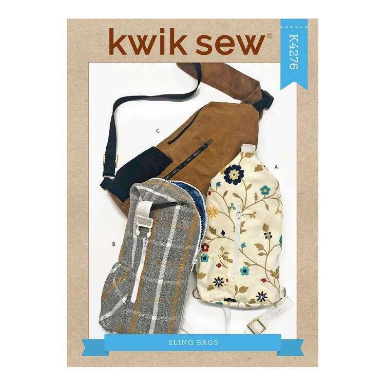 Kwik Sew Pattern 4276 Cross Back Bags