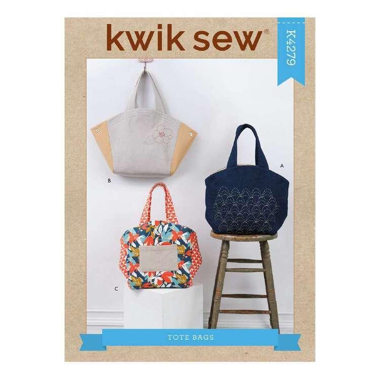 Kwik Sew Pattern 4279 Tote Bags