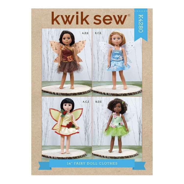 Kwik Sew Pattern 4280 Fairy Doll Clothes