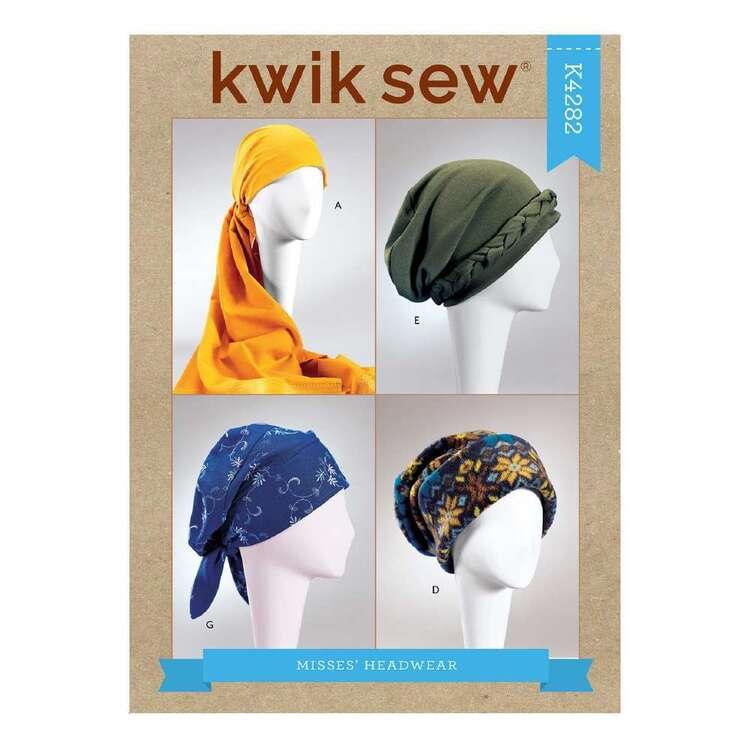 Kwik Sew Pattern 4282 Misses' Turbans, Headwrap & Hats