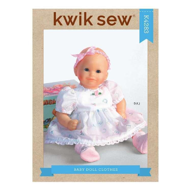 Kwik Sew Pattern 4283 Doll Clothes