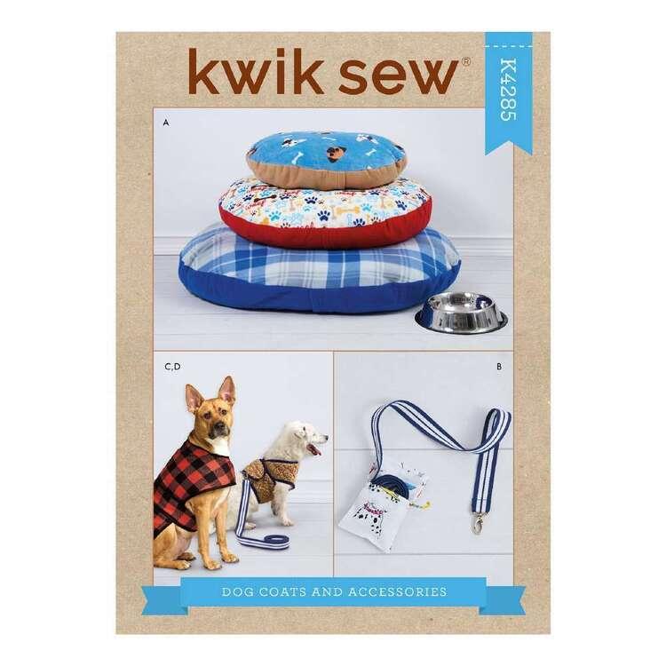 Kwik Sew Pattern 4285 Dog Coat & Accessories