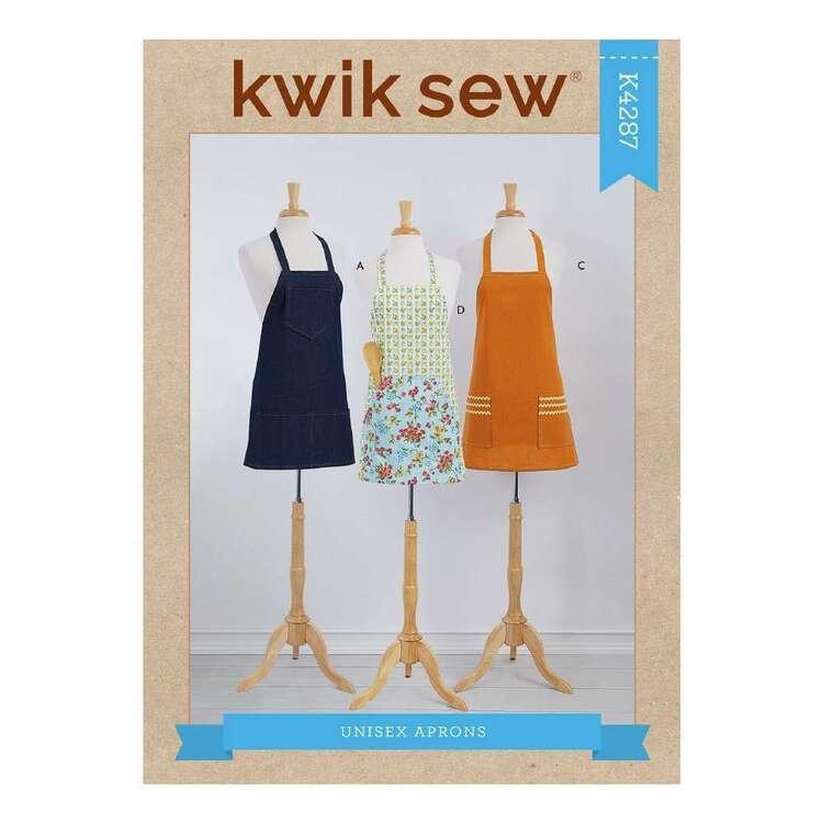 Kwik Sew Pattern 4287 Adults' Aprons