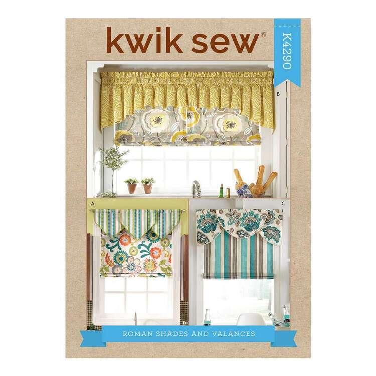 Kwik Sew Pattern 4290 Roman Shades & Valences