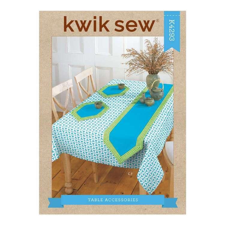 Kwik Sew Pattern 4293 Table Accessories