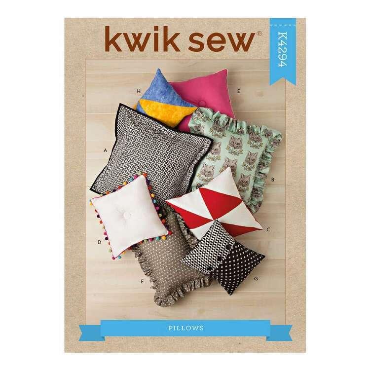Kwik Sew Pattern 4294 Pillows