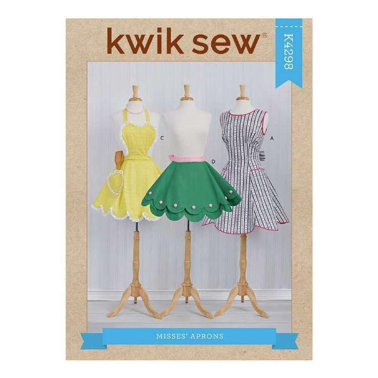 Kwik Sew Pattern 4298 Misses' Aprons