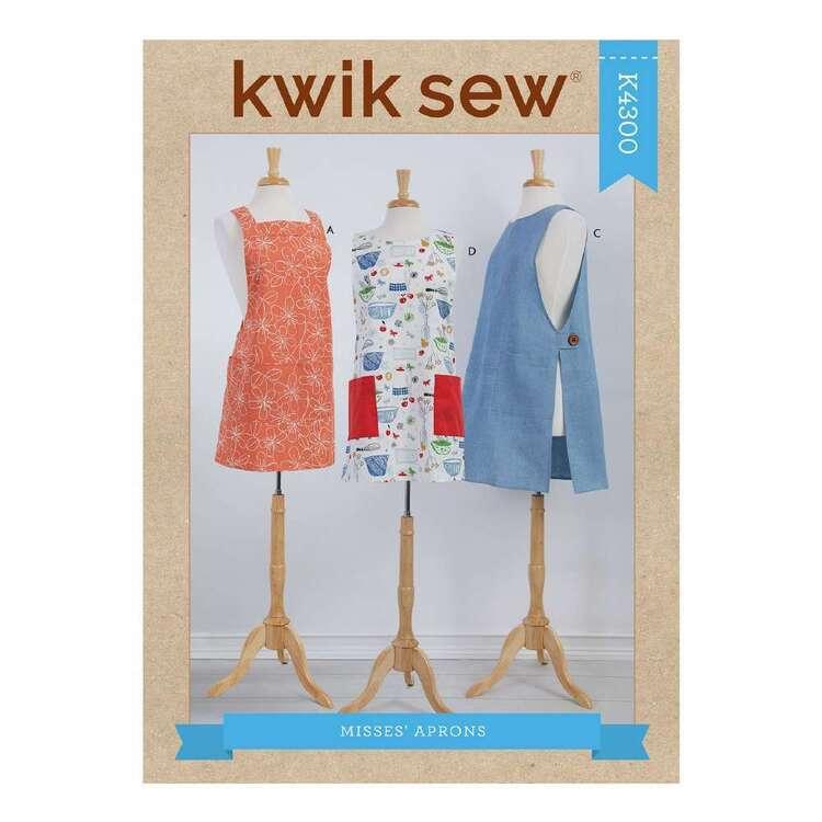 Kwik Sew Pattern 4300 Misses' Aprons