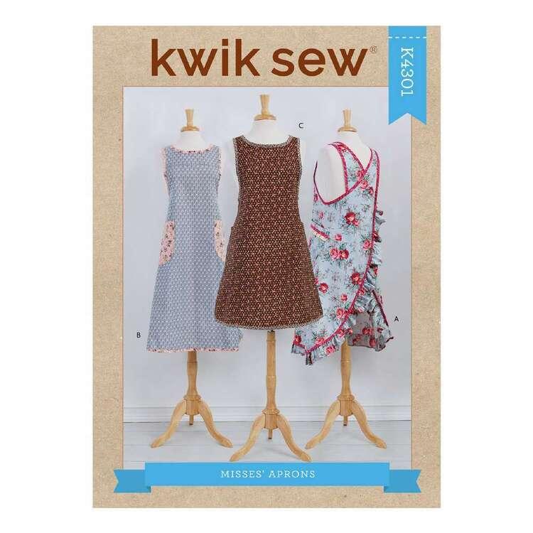 Kwik Sew Pattern 4301 Misses' Wraparound Aprons
