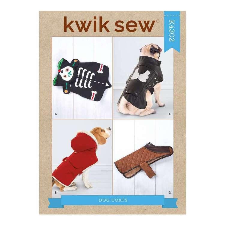 Kwik Sew Pattern 4302 Dog Coats