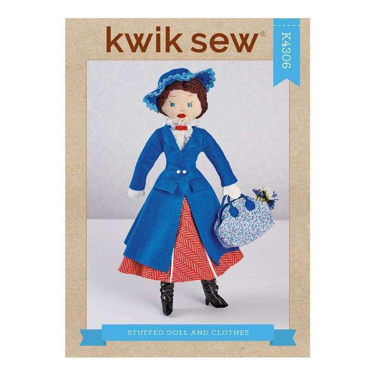 Kwik Sew Pattern 4306 Stuffed Doll & Clothes
