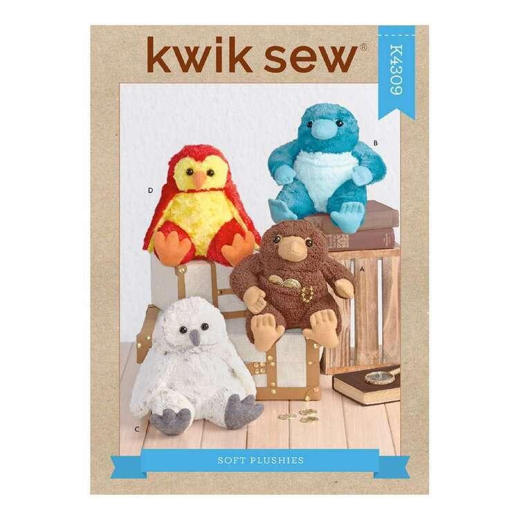 Kwik Sew Pattern 4309 Soft Plushies