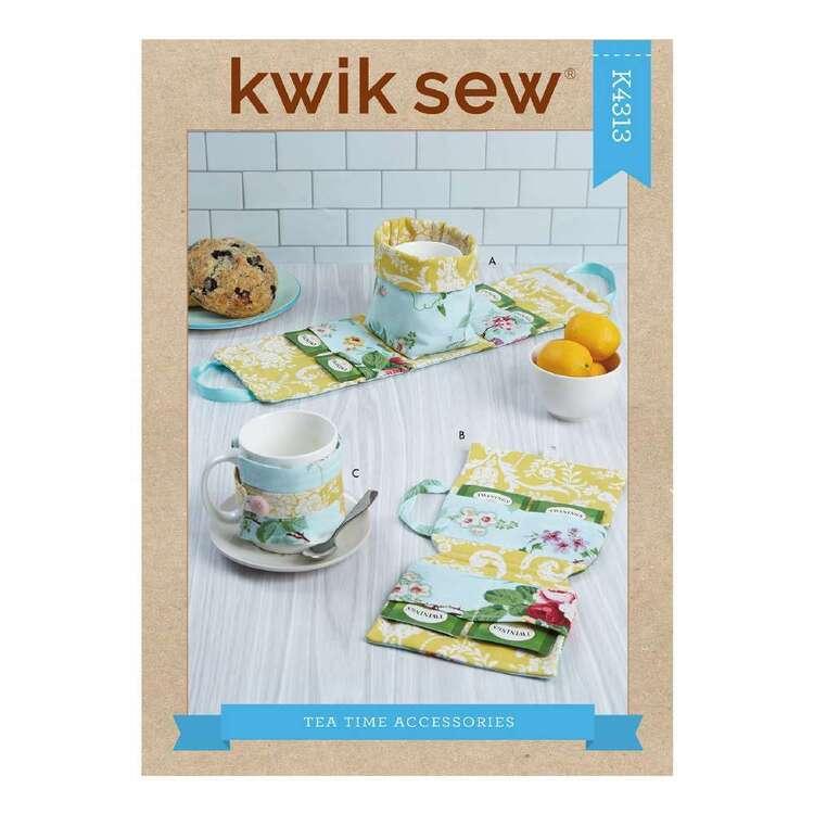 Kwik Sew Pattern 4313 Mug Case, Tea Bag Case & Mug Cozy