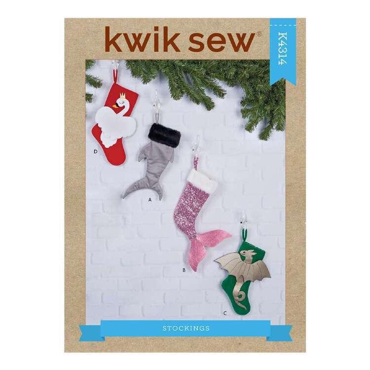 Kwik Sew Pattern 4314 Holiday Stockings