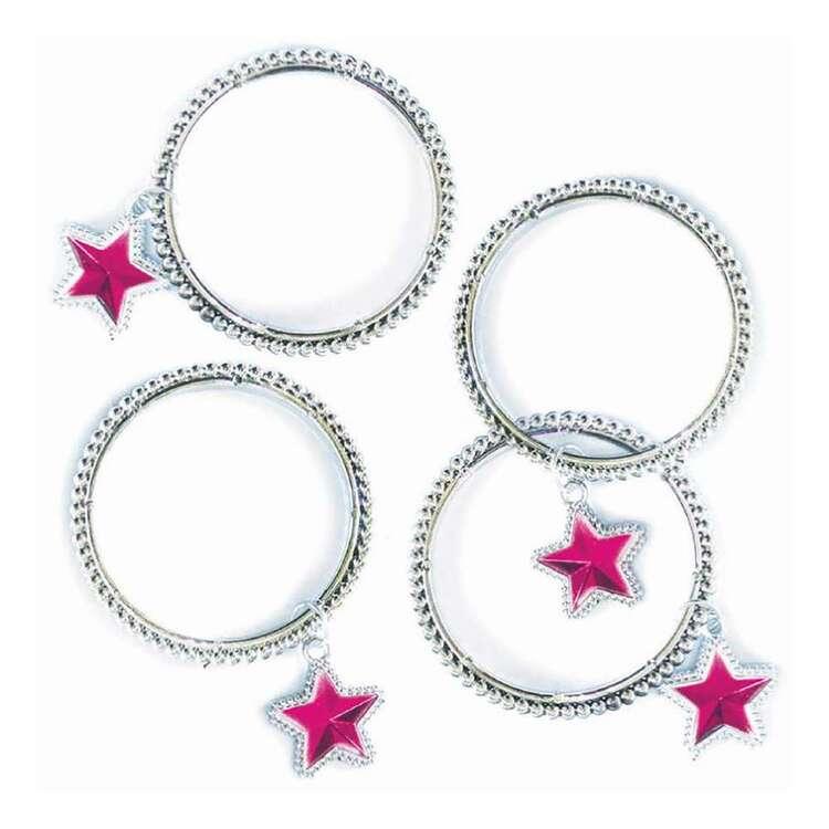 Artwrap Favour Star Charm Bracelet 4 Pack