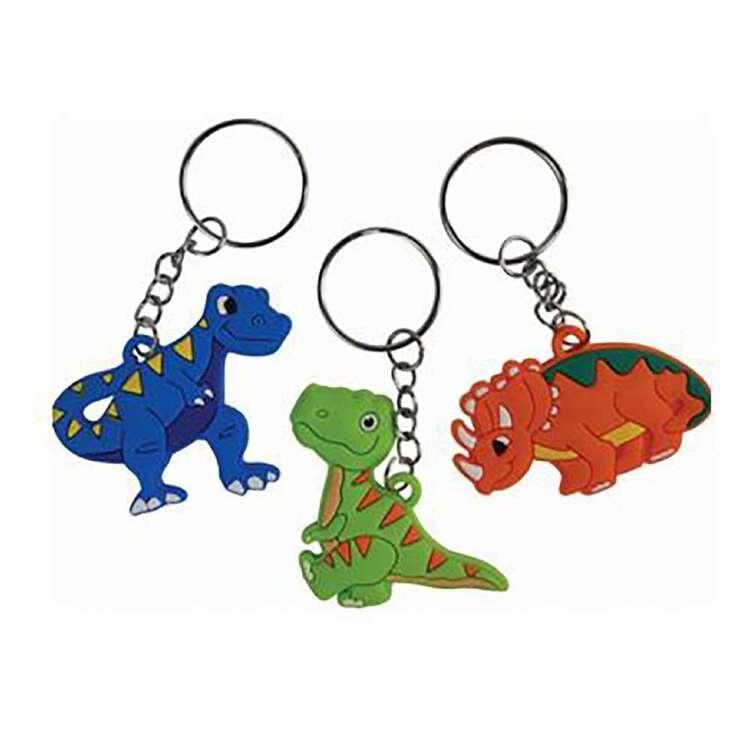 Artwrap Favour Dinosaur Keyring 3 Pack