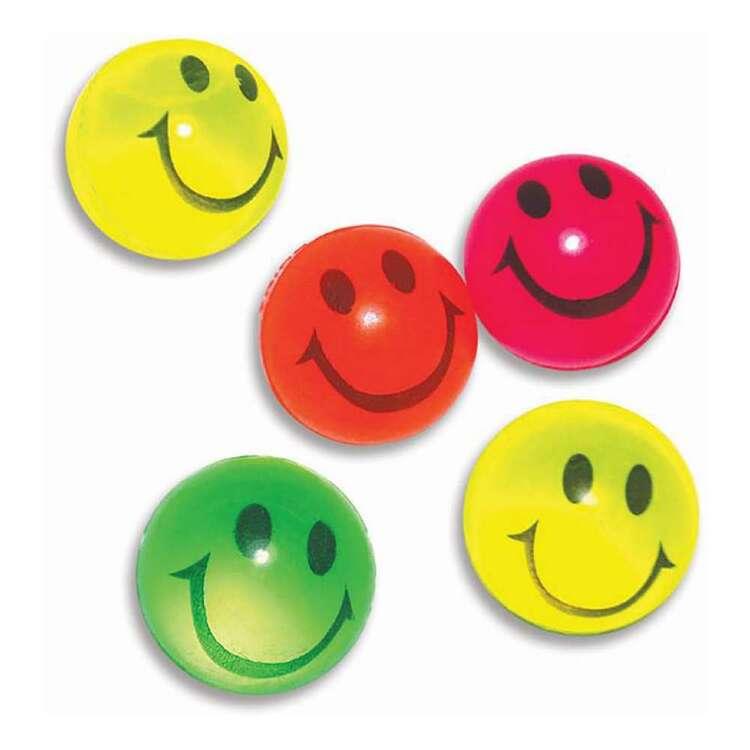 Artwrap Favour Smiley Bouncing Balls 5 Pack