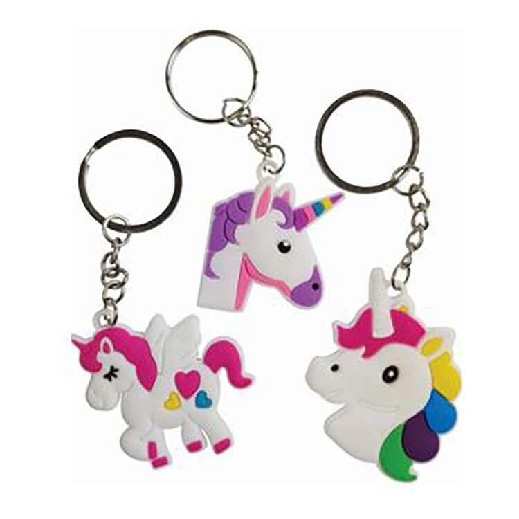 Artwrap Favour Unicorn Keyring 3 Pack