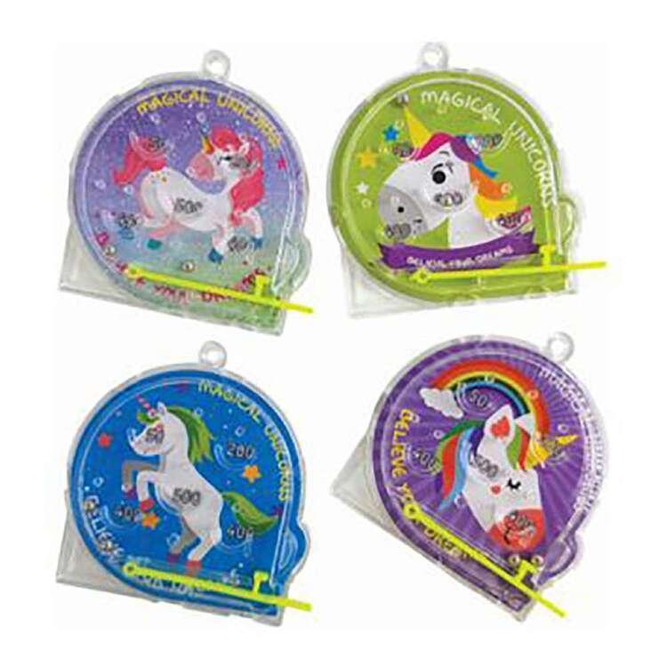 Artwrap Favour Unicorn Pinball 4 Pack