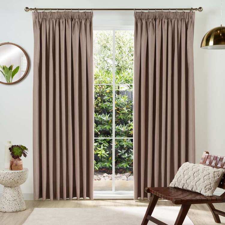 KOO Avalon Blockout Pencil Pleat Curtains