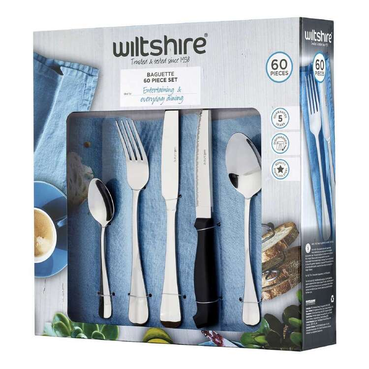 Wiltshire Baguette 60 Piece Cutlery Set