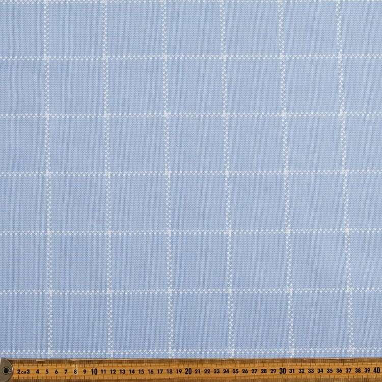 Corey Check Thermal Curtain Fabric