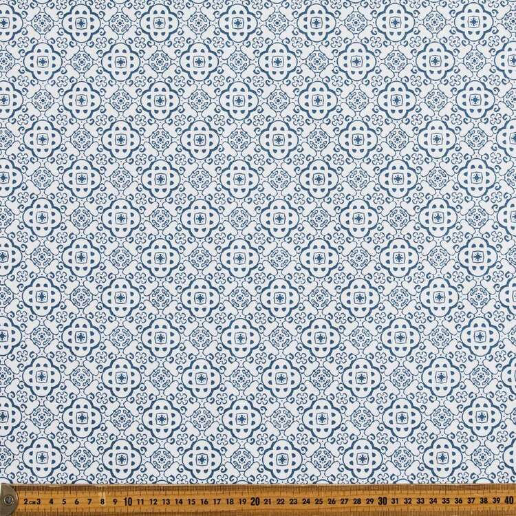 Florence Mosaic Thermal Curtain Fabric